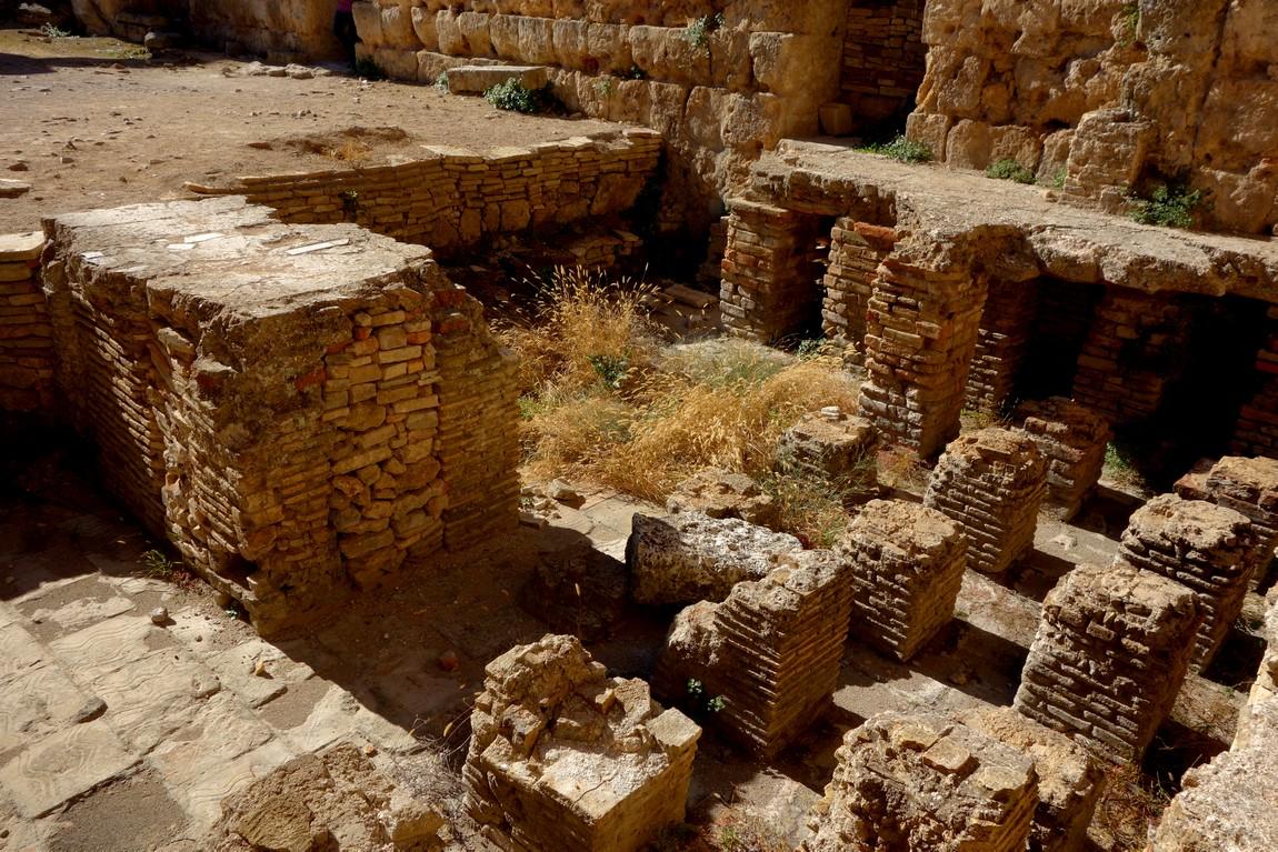 Древний город Перге - Термы