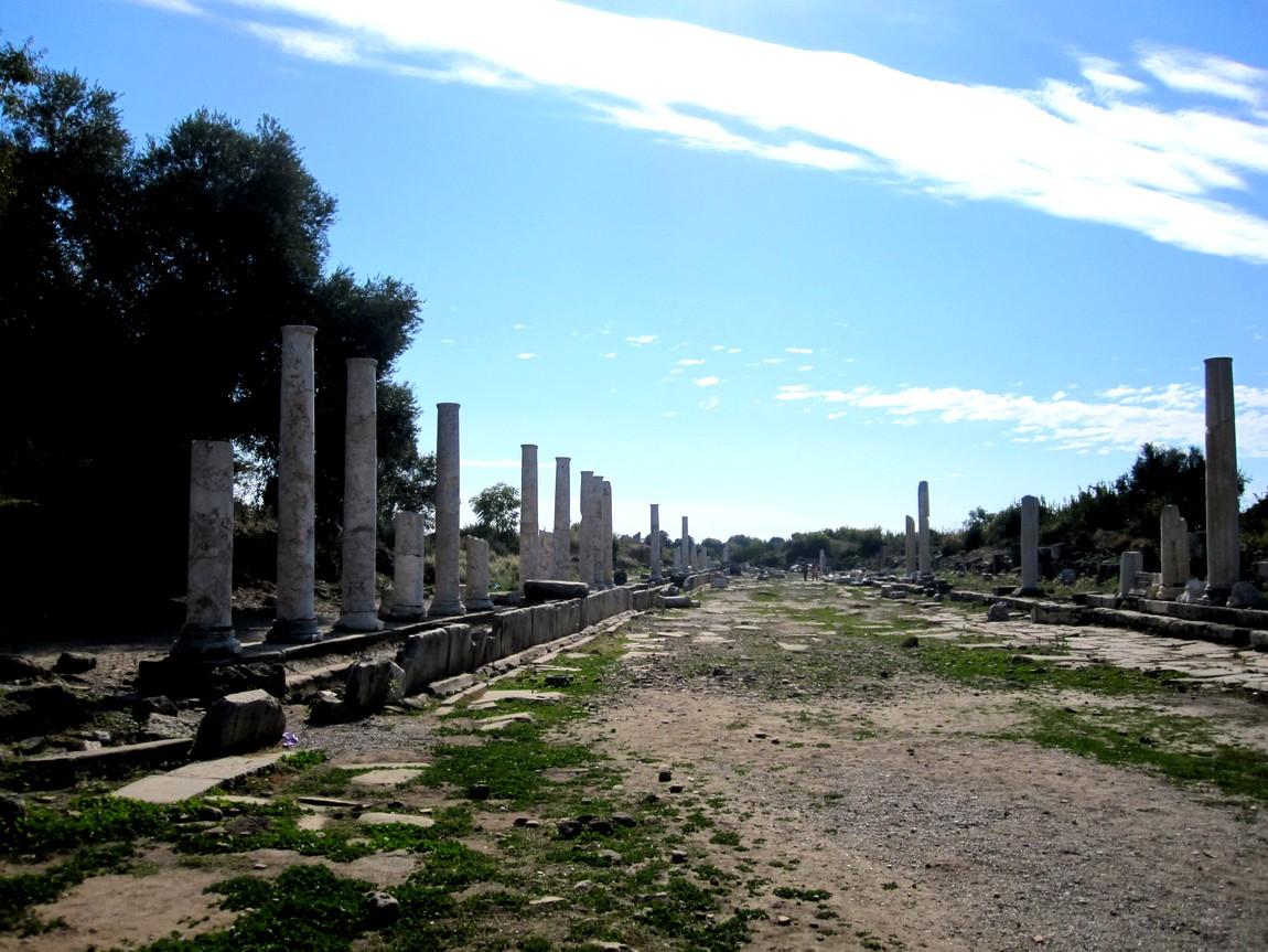 Сиде -древний город