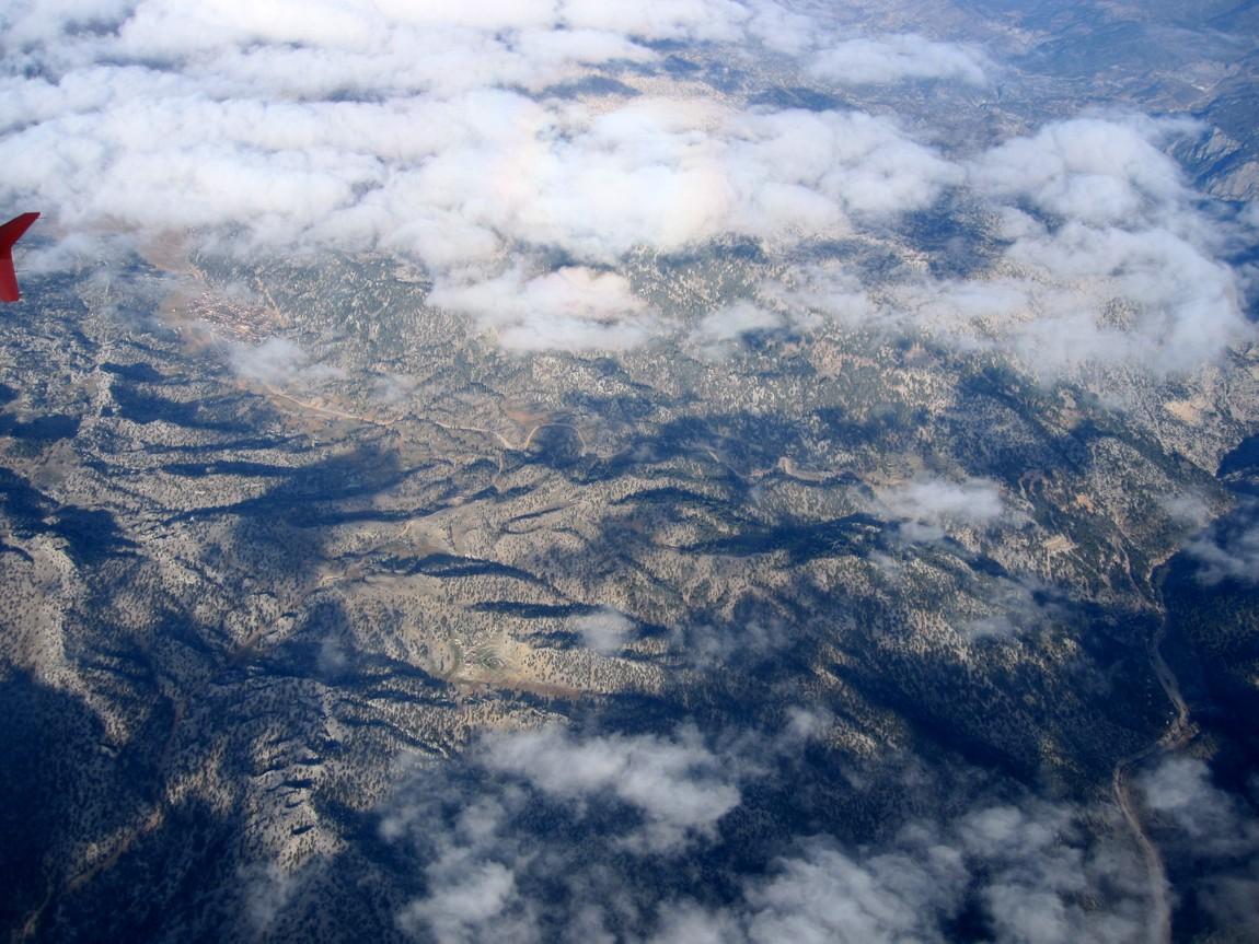 Небо над Турцией