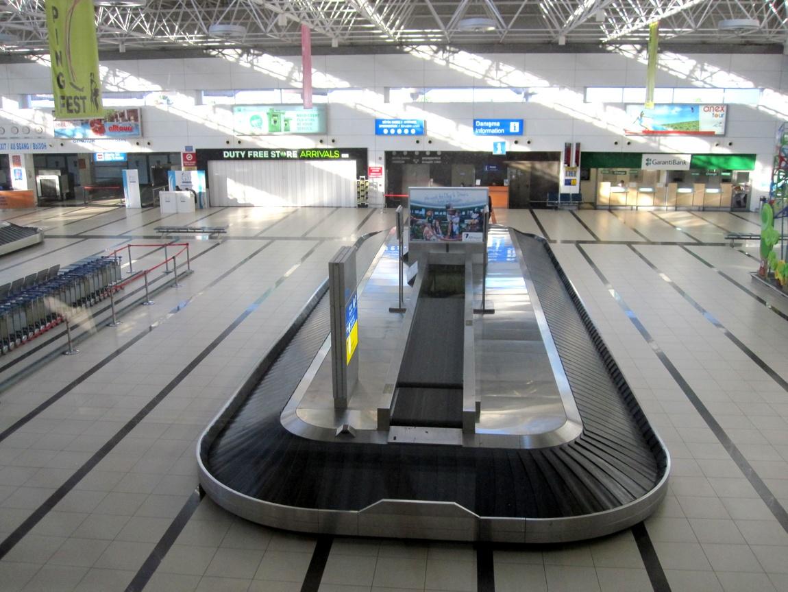 Аэропорт в Турции (Анталья)