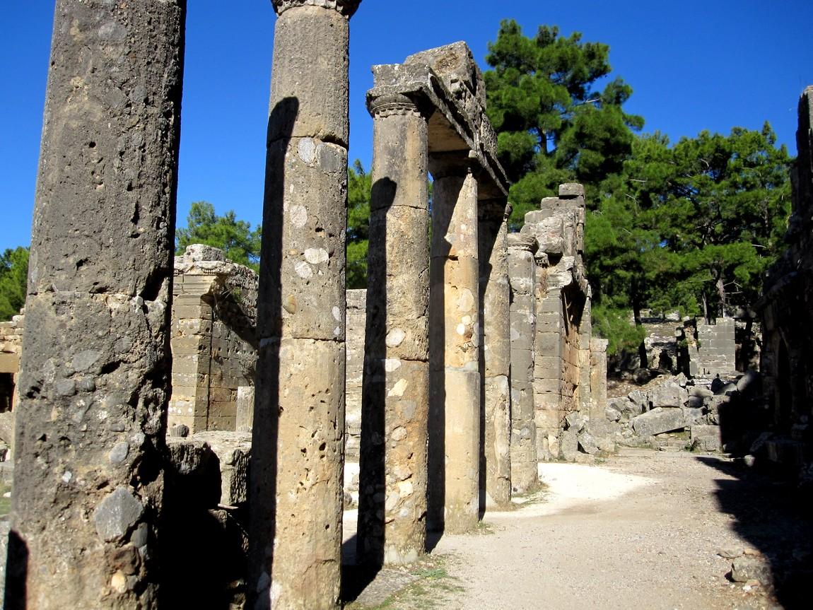 Селевки руины древнего города