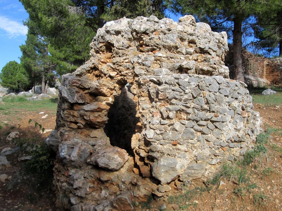 Цистерны для пресной воды в крепости Аланьи