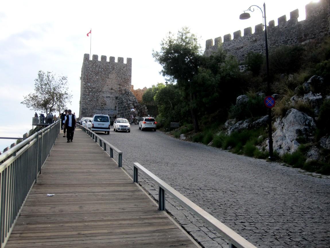 Сельджукская крепость в Аланьи