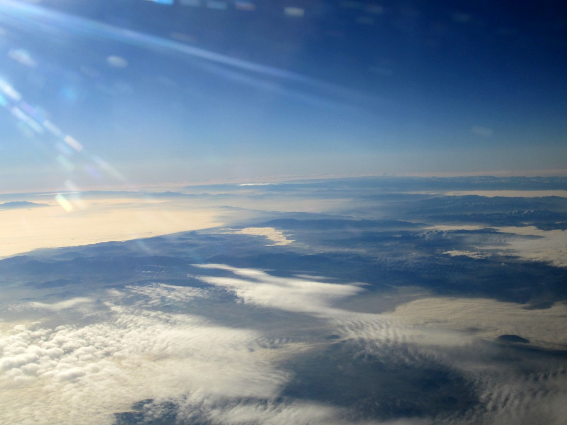 Облака над Египтом