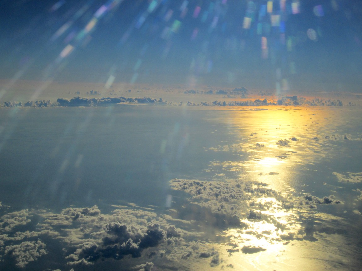 Восход над облаками Египта