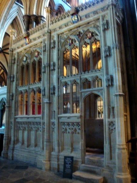 Часовня Одли - Солсберийский собор