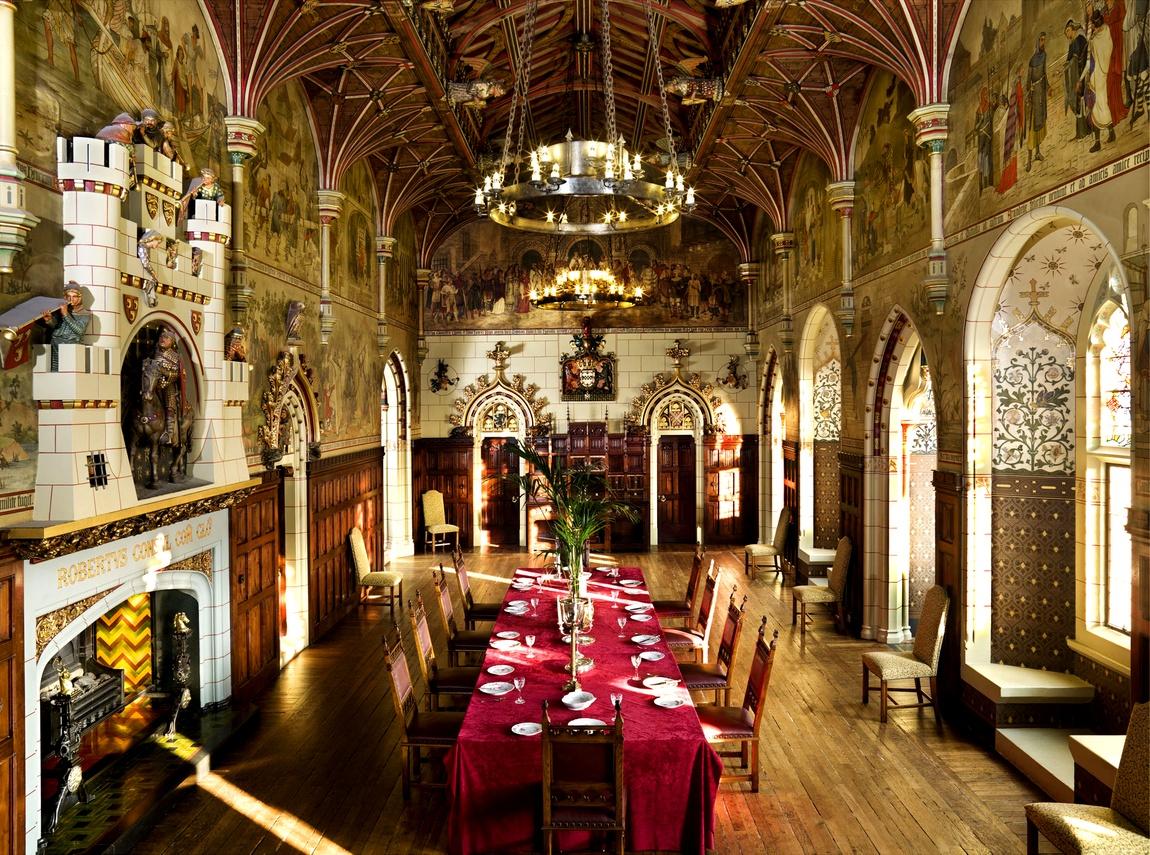 Банкетный зал замка Кардифф