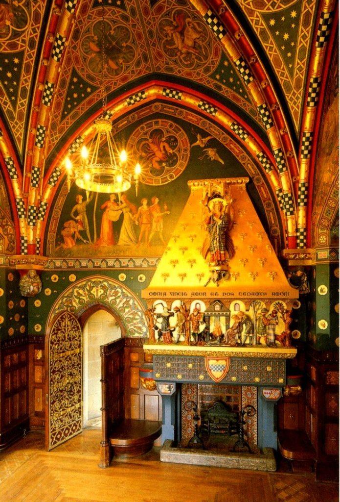 Зимняя курительная комната замка Кардифф