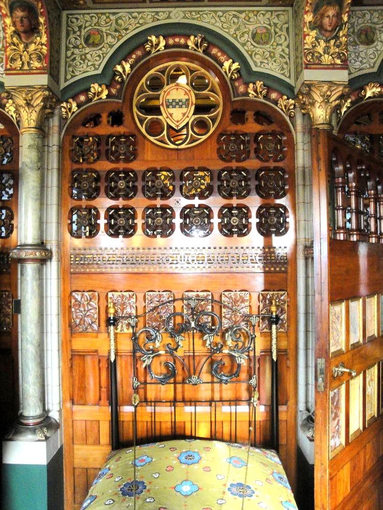 Спальня в замке Кардифф