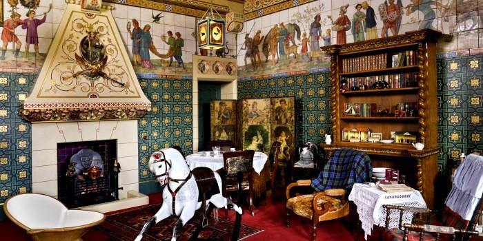 Детская комната в замке Кардифф