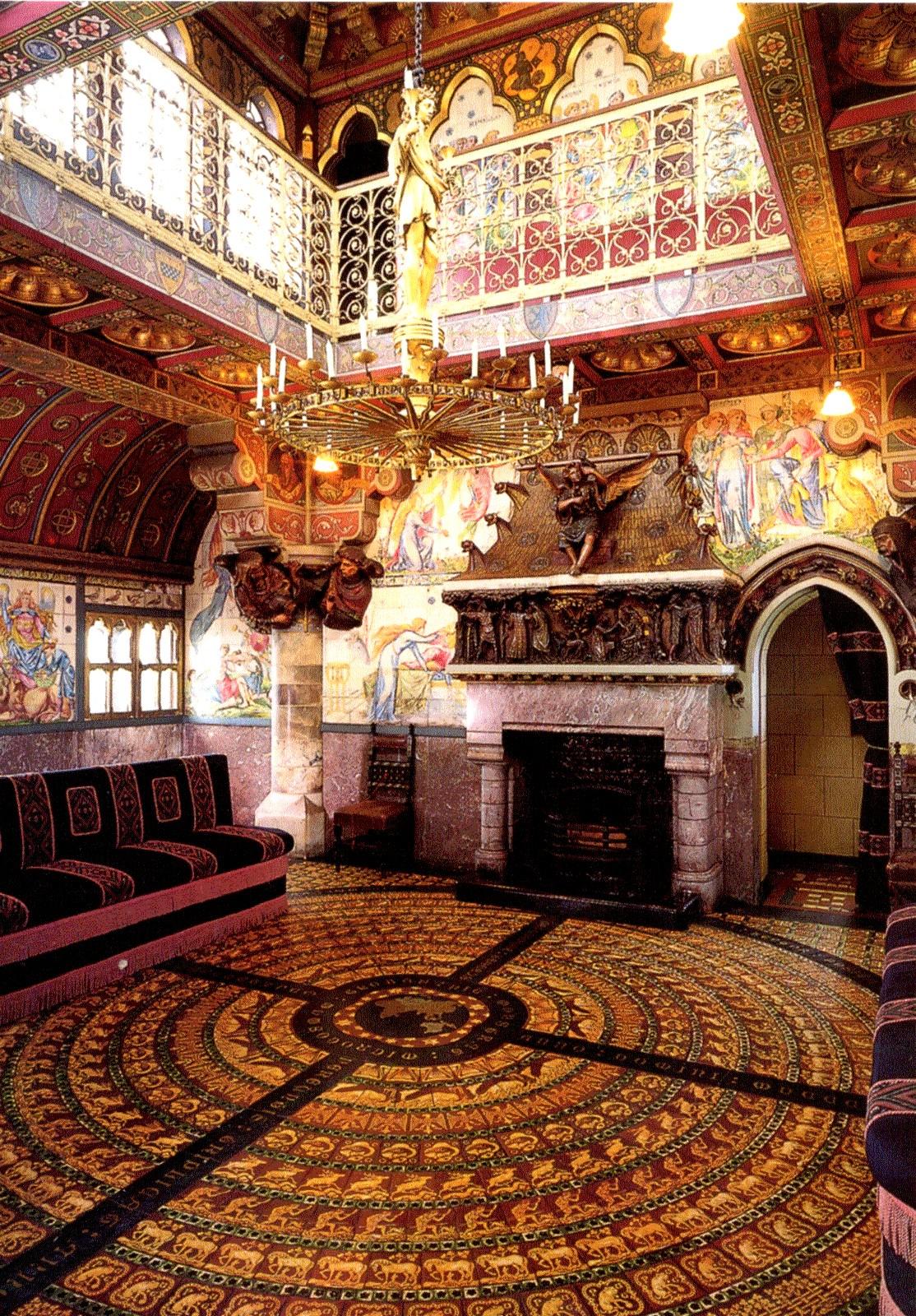 Летняя курительная комната в замке Кардифф