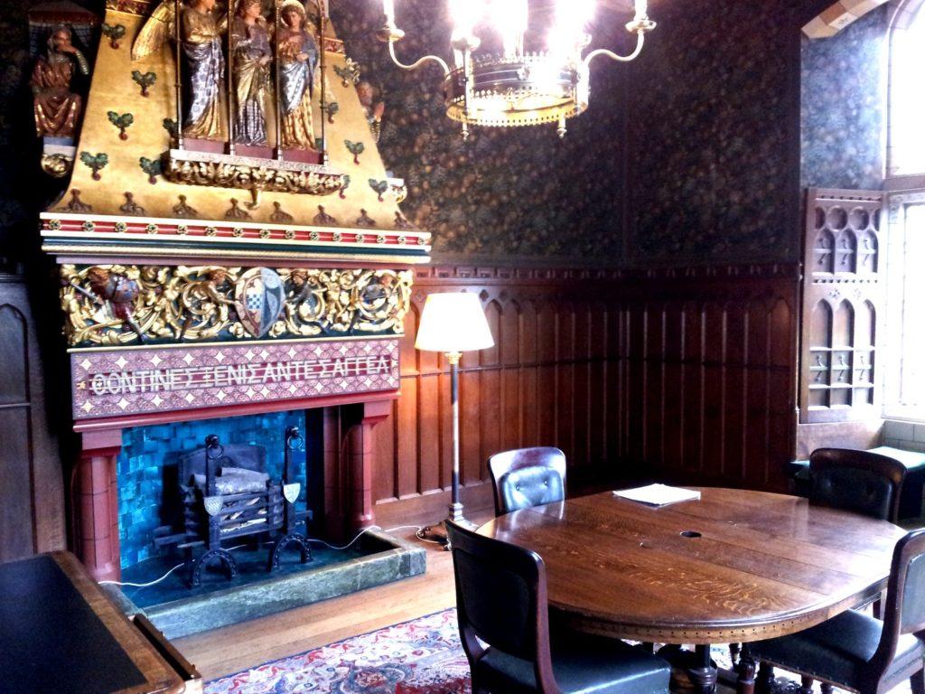 Столовая в замке Кардифф