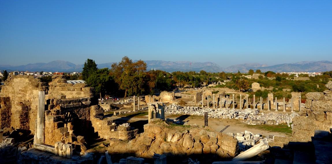 Сиде древний город