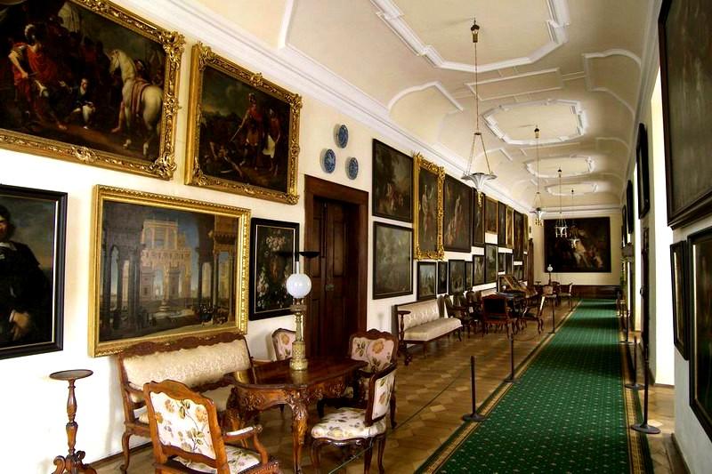Картинная галерея в Крумловском замке