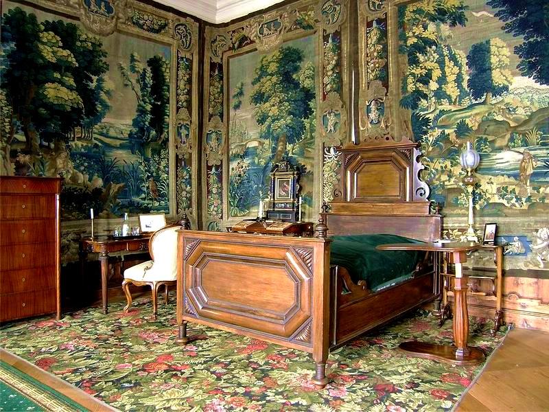 Спальня в замке Крумлова