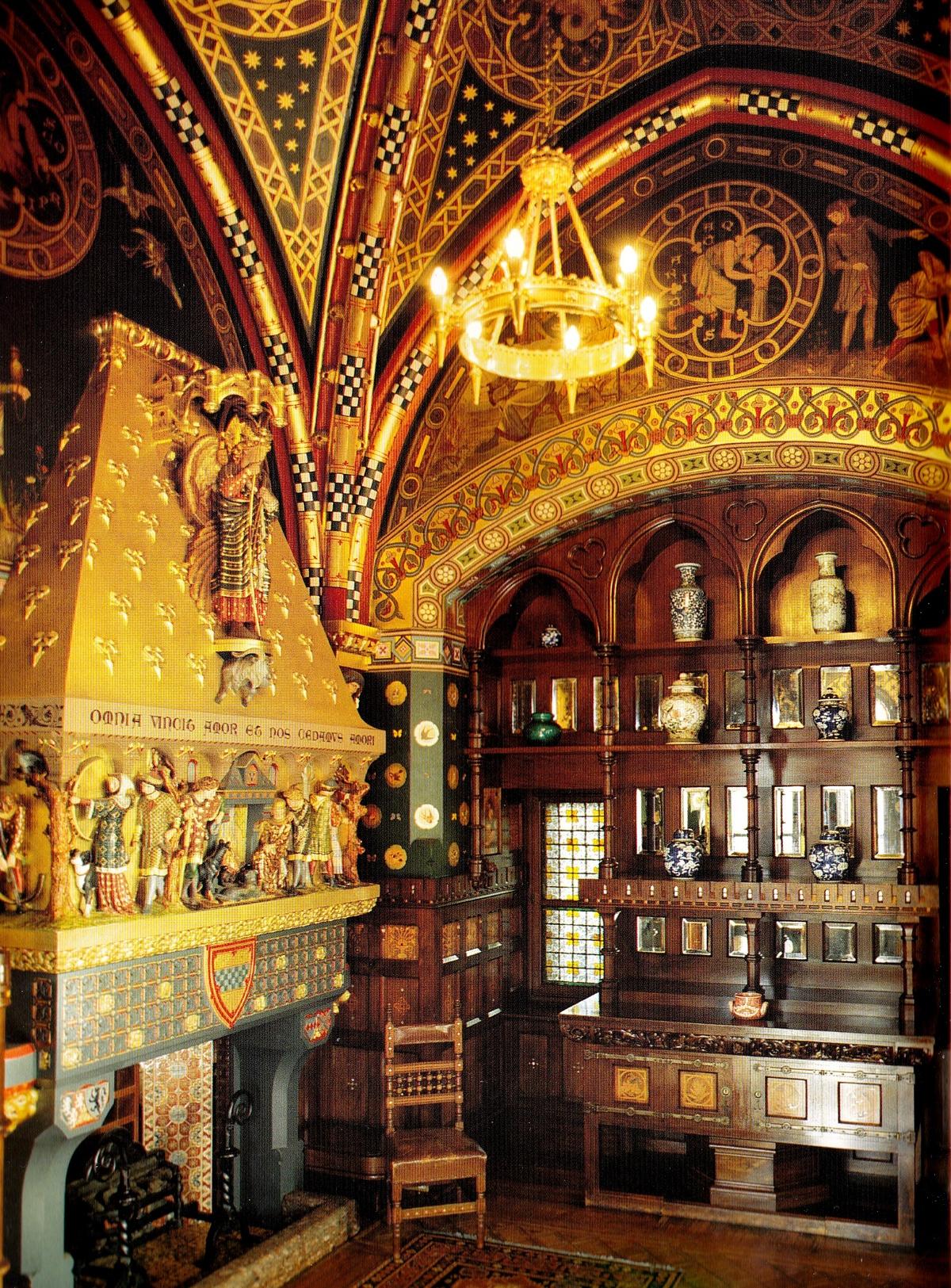 Зимний курительный зал в замке Кардифф