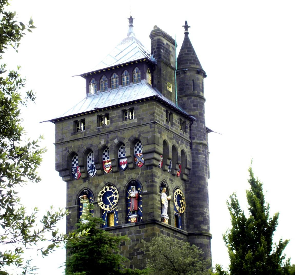 Часовая башня замка Кардифф