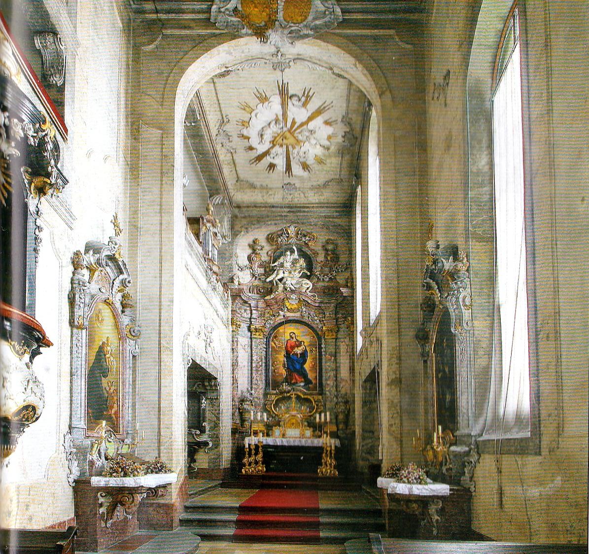 Часовня Крумловского замка