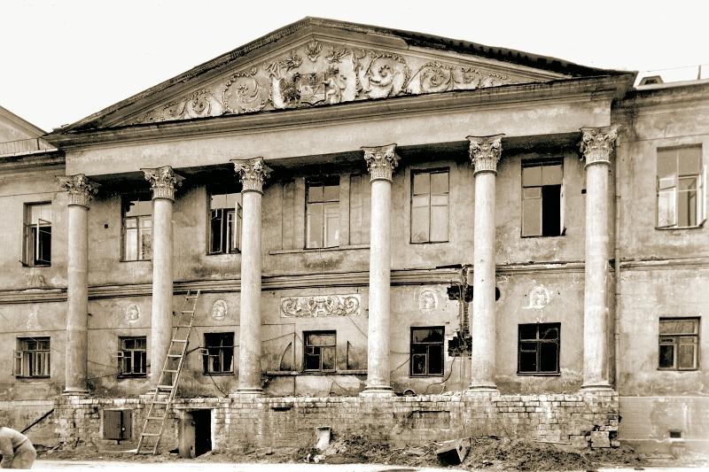 Музей Рериха до реставрации