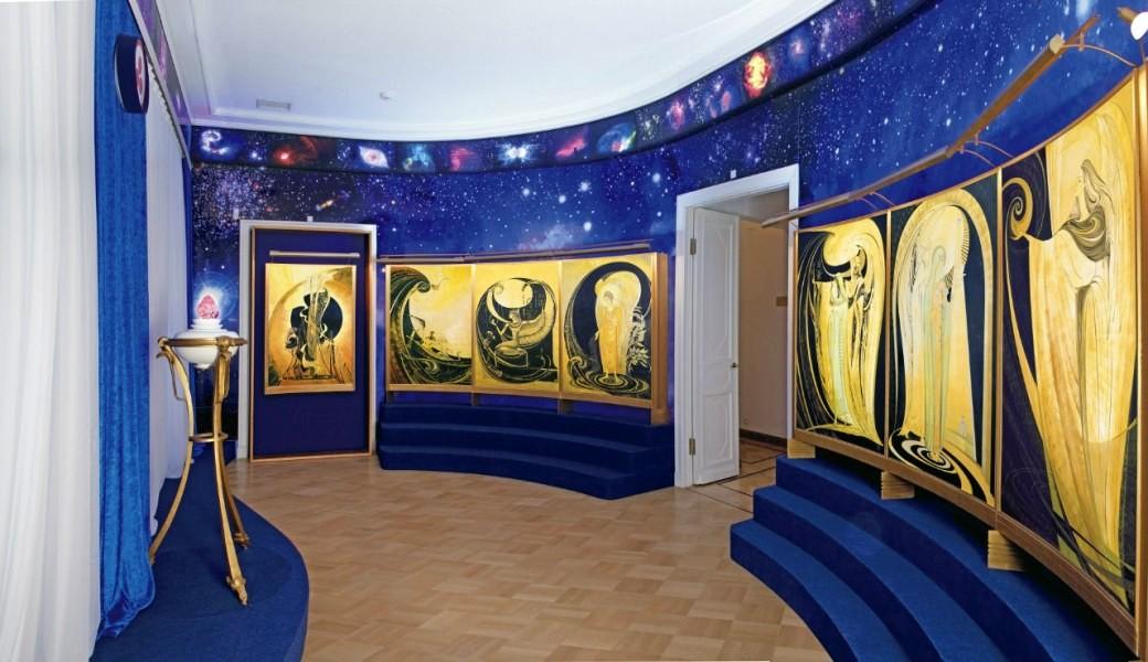 Музей Рериха - вводный зал