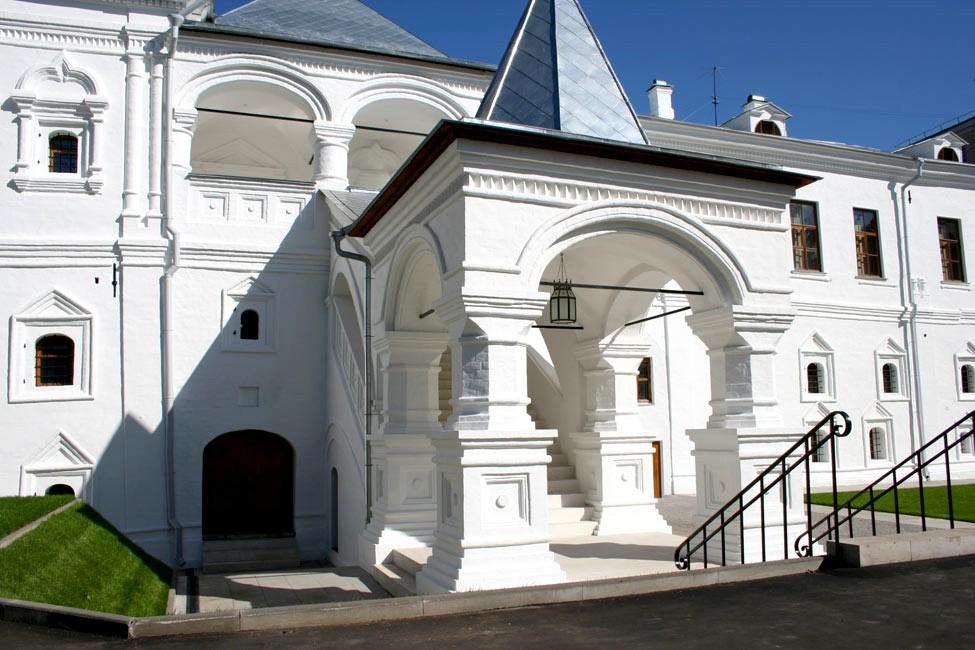 Музей Рериха - вид со двора