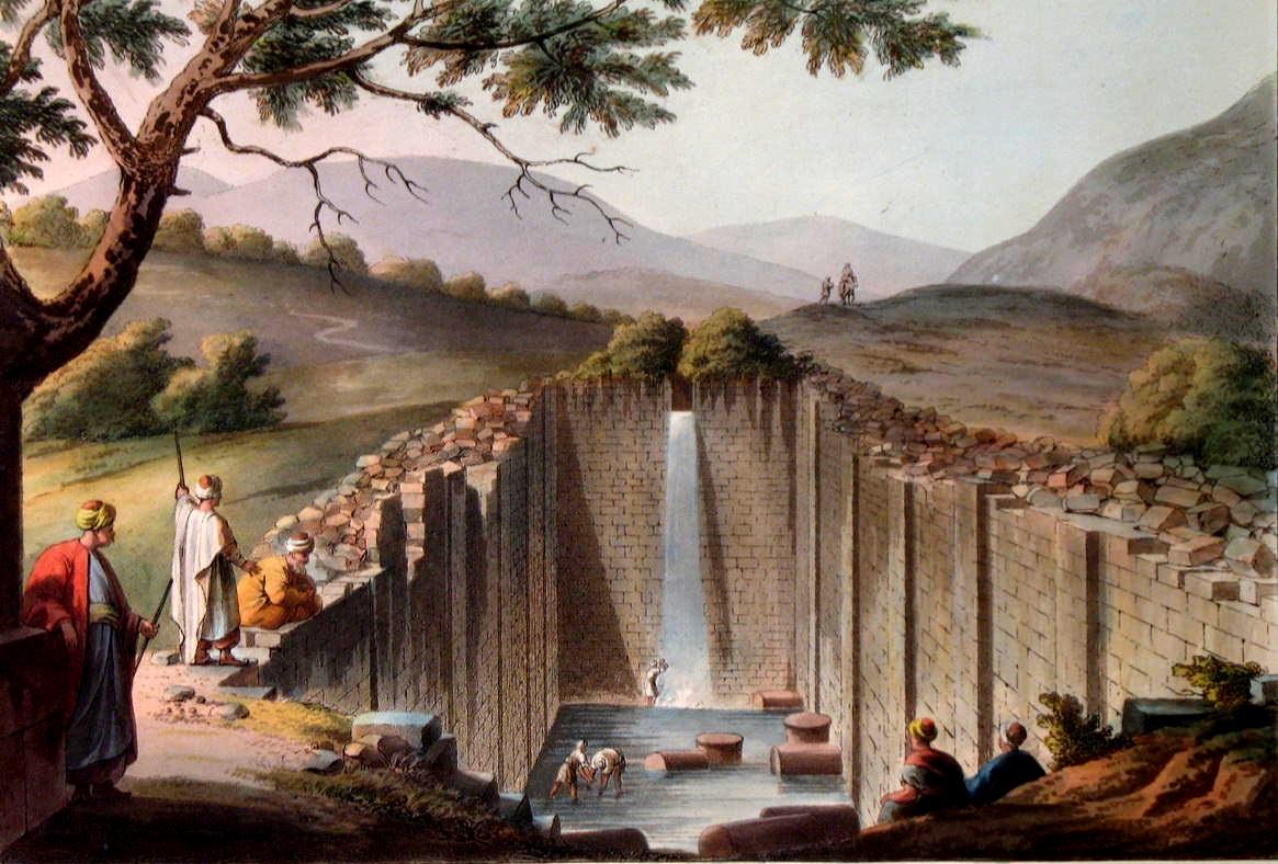 Библейская купель -Вифезда (Израиль)