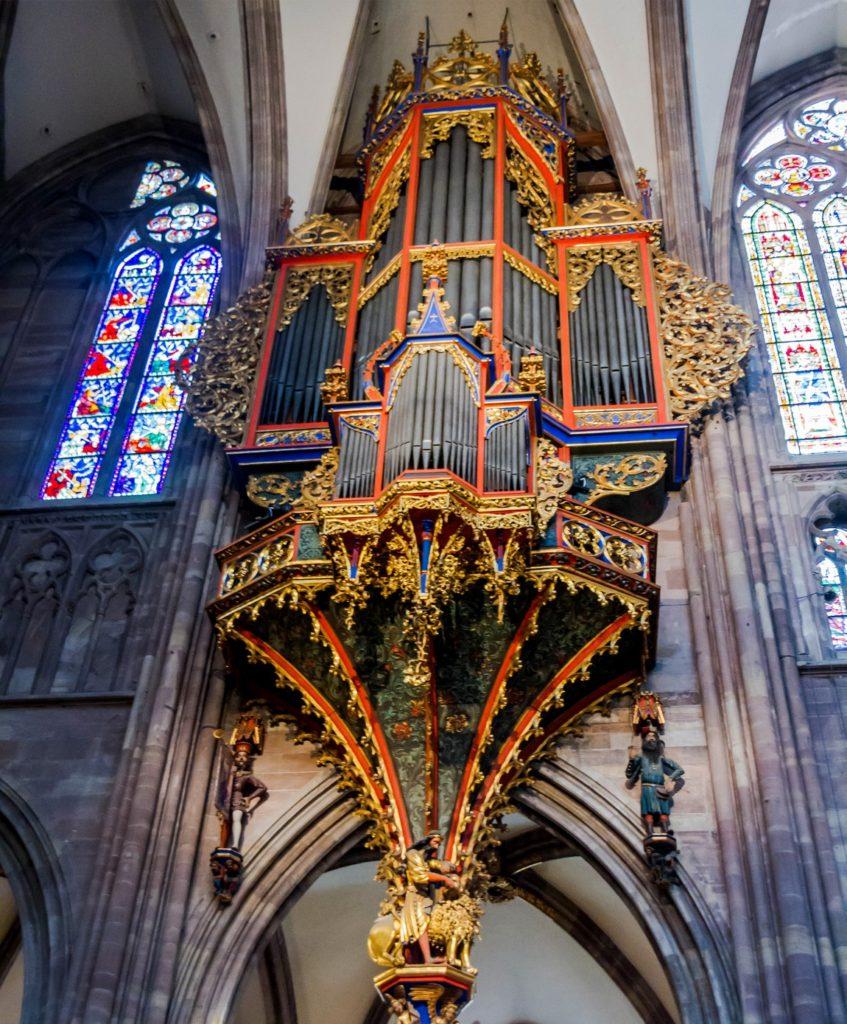 Орган - Страсбургский собор