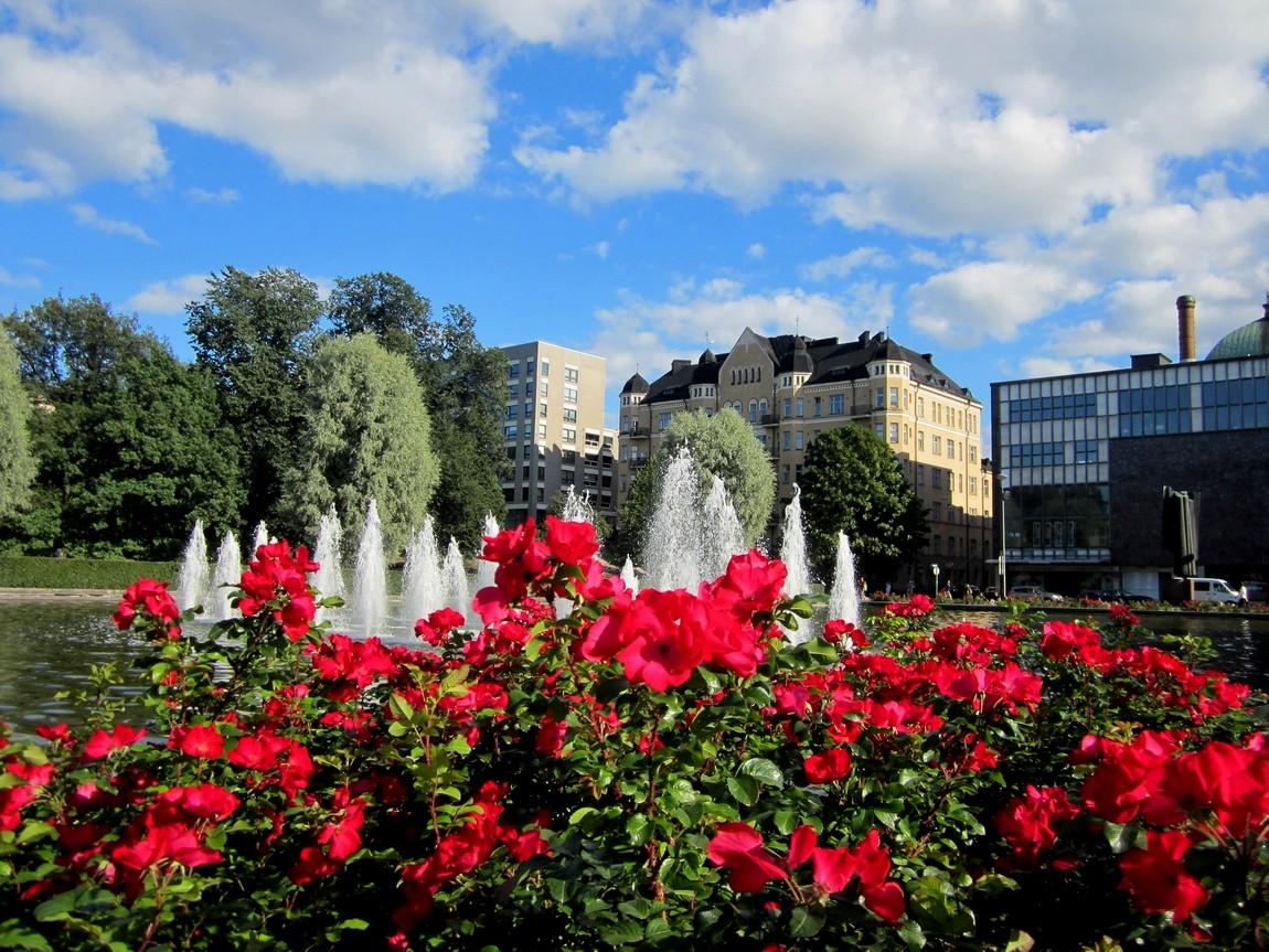 Парк в Финляндии.