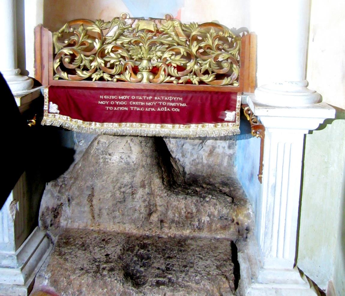 Камень, на котором молился Иисус