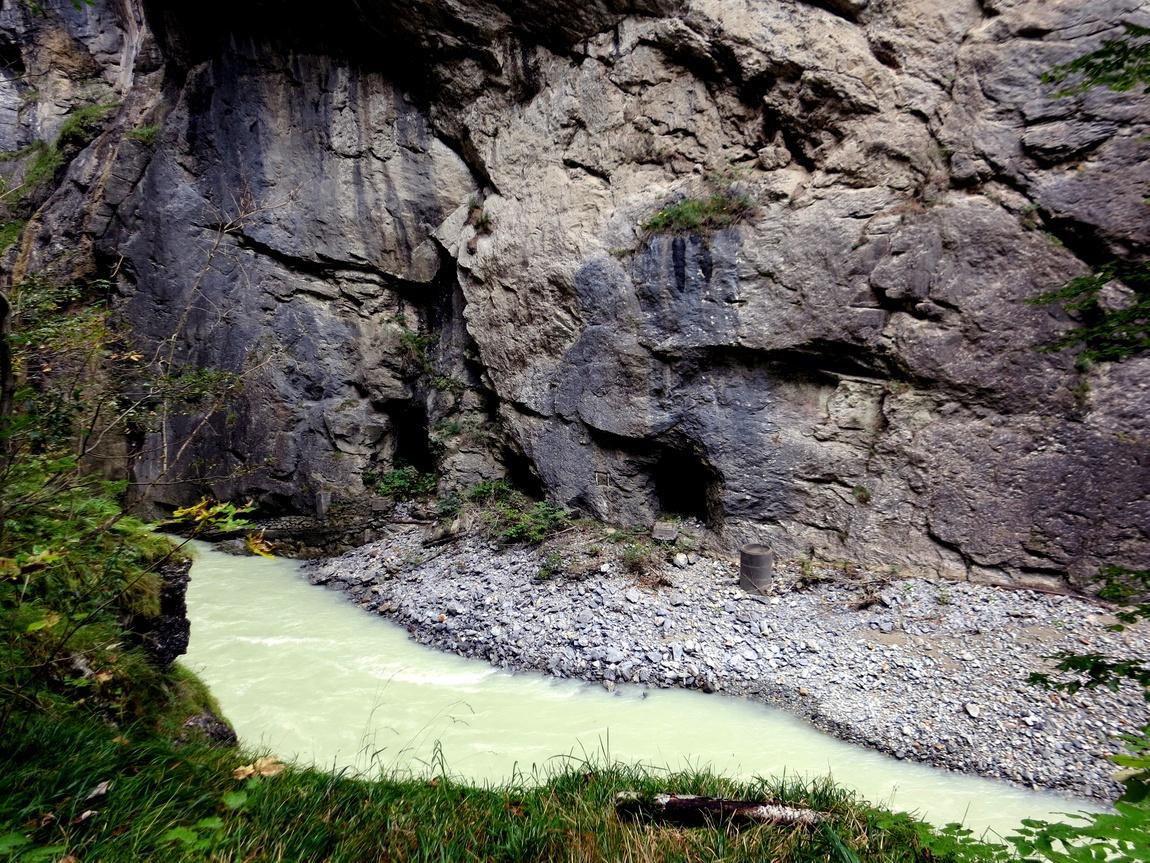 Мейринген-Каньон (gorges de l'Aare) (Швейцария)