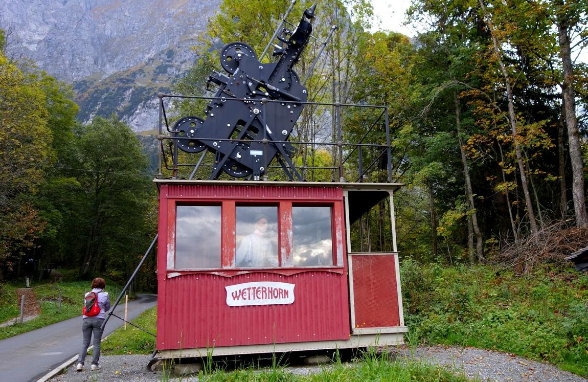 Oberer Gletscher (нижняя канатная станция 1908 г в Швейцарии)