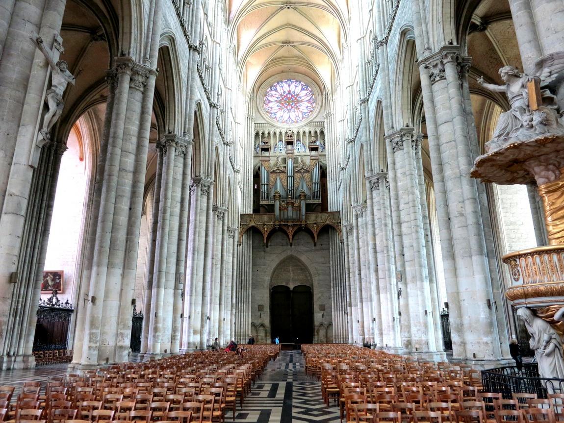 Амьенский собор Божией Матери - Франция