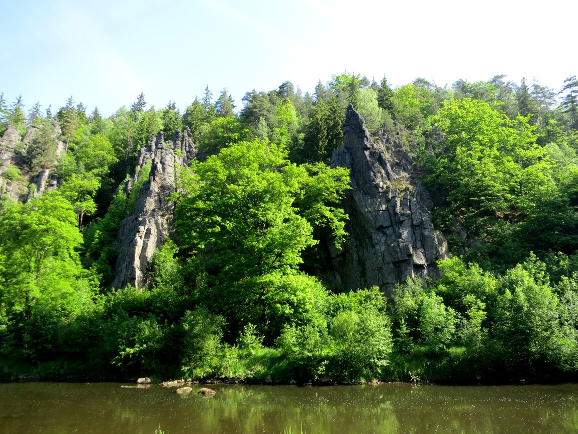 Сватошские скалы Чехия