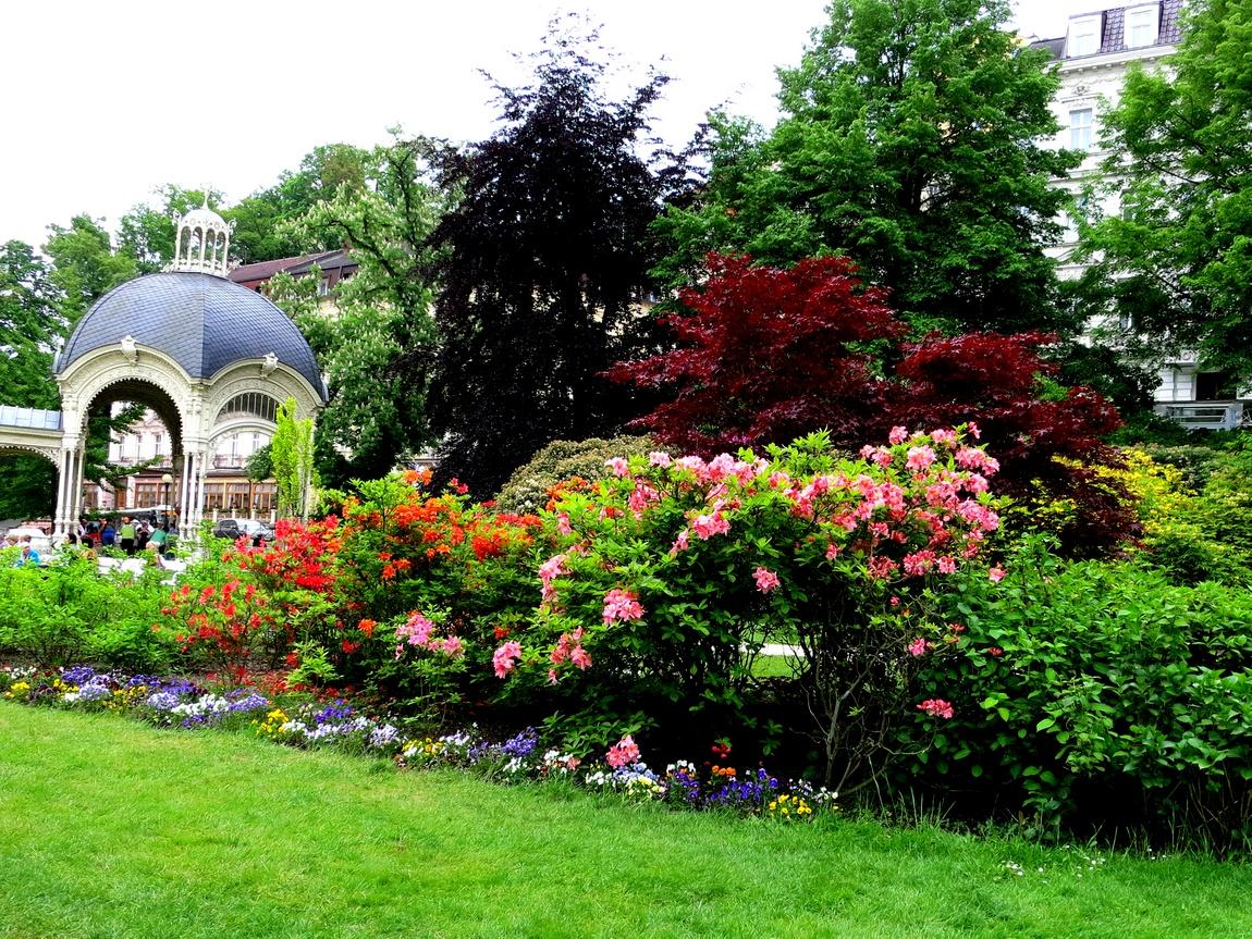 Цветники Чехия