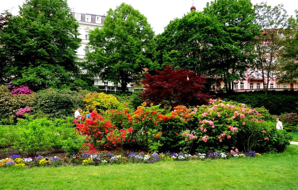 Сады в Карловых Варах