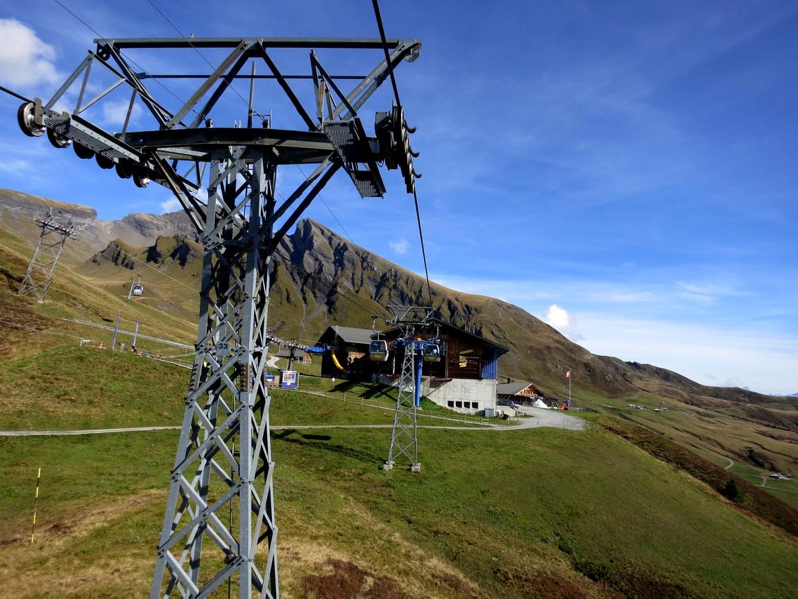 Гора First Швейцария