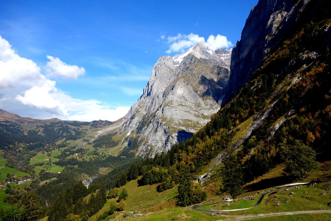 Пешая тропа в Швейцарии