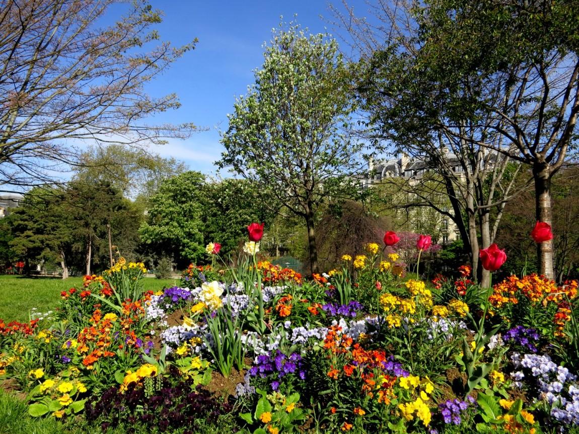 Цветники Германии