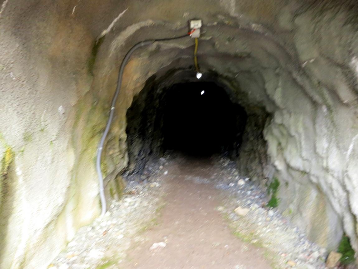 Подземный переход в скале