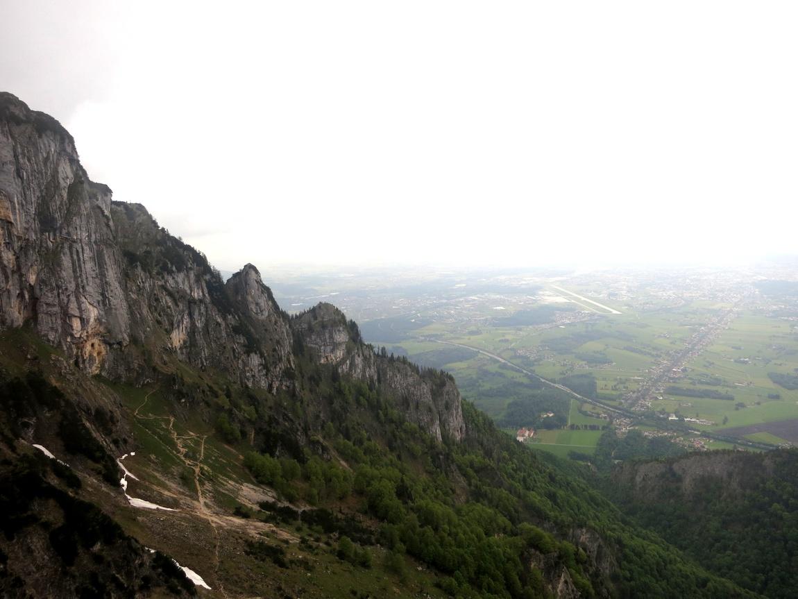 Гора Унтерсберг Высота подъёма 1853 метра (Австрия)