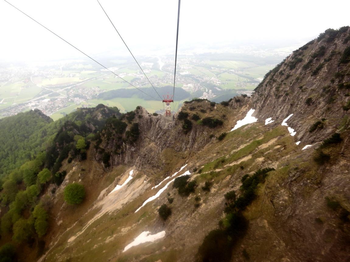 Канатная дорога с горы Унтерсберг