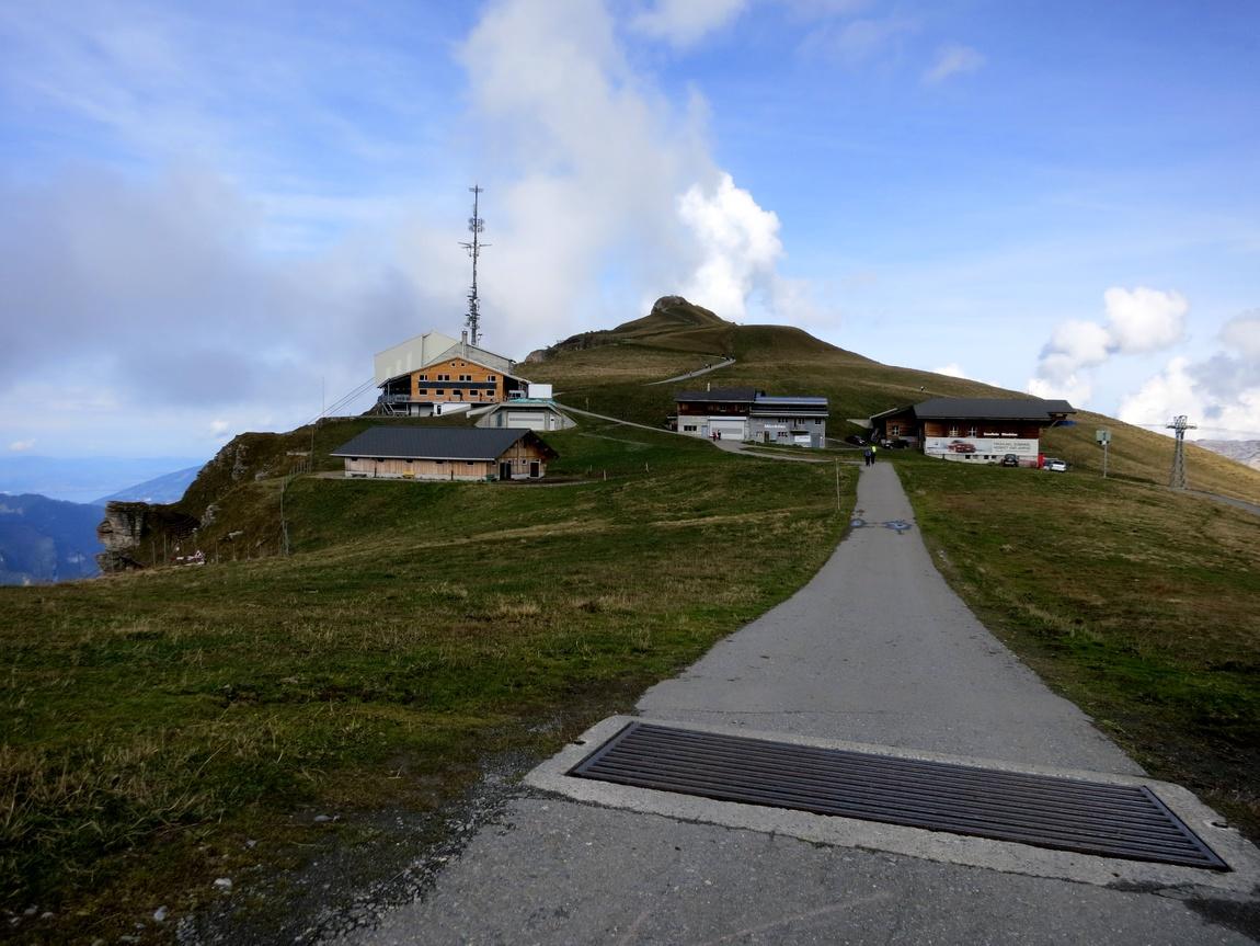 Горное плато Männlichen