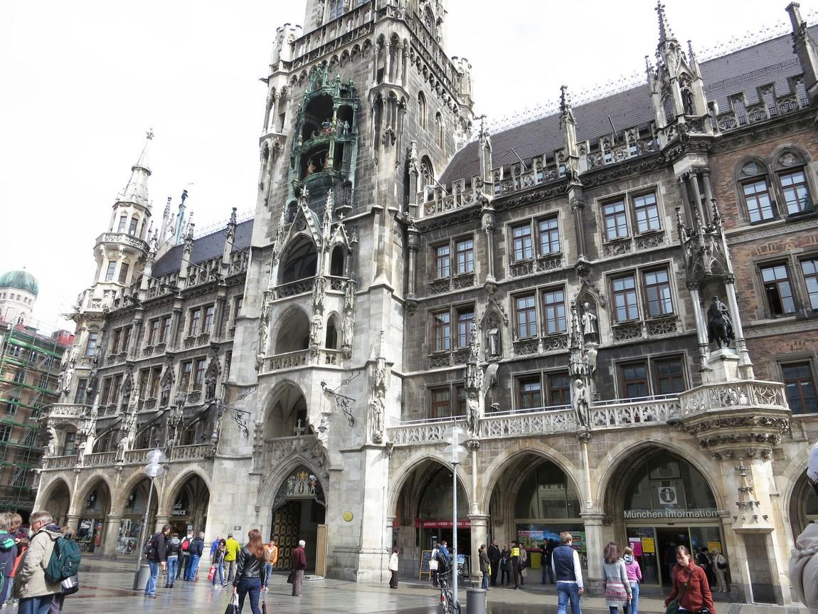 Часы в Мюнхене