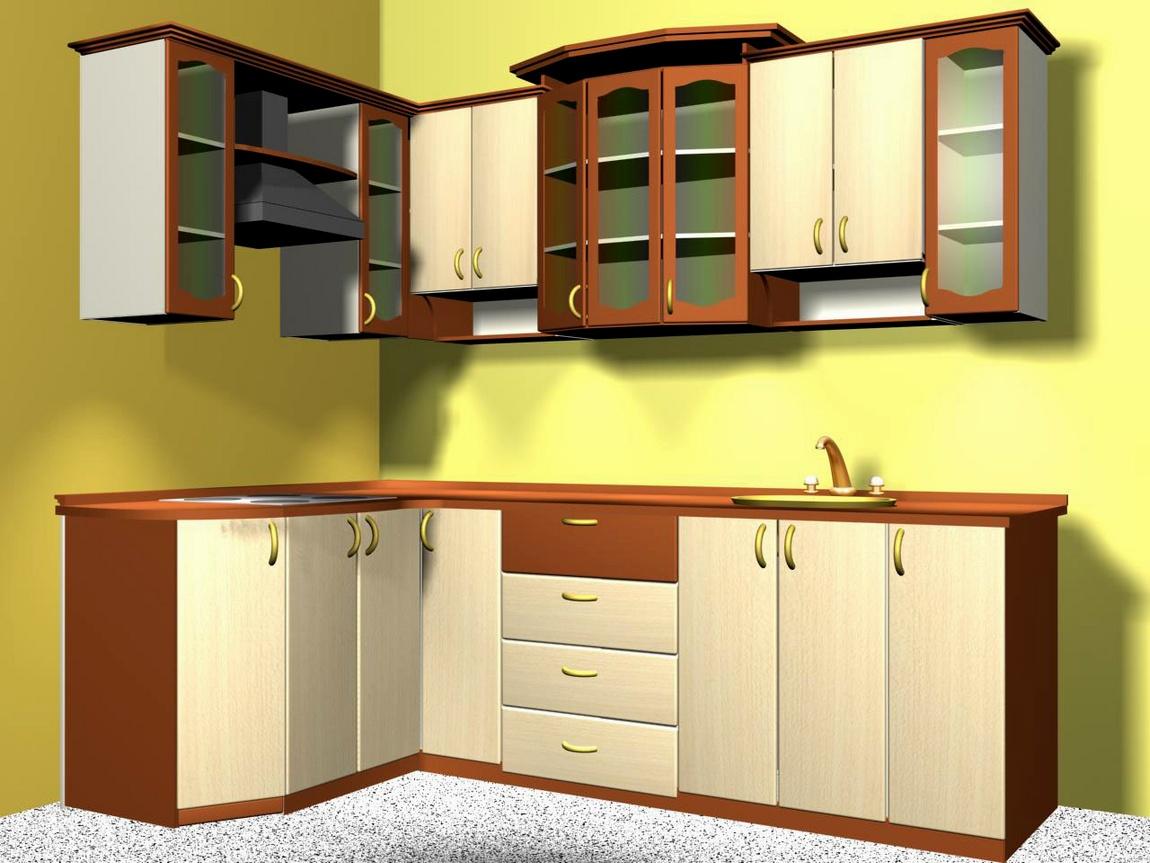 Кухня бук и вишня