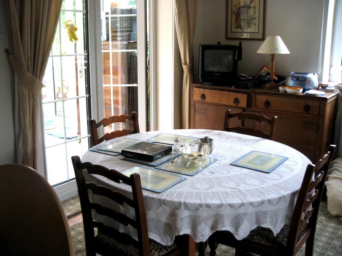 Круглый стол на английской кухне
