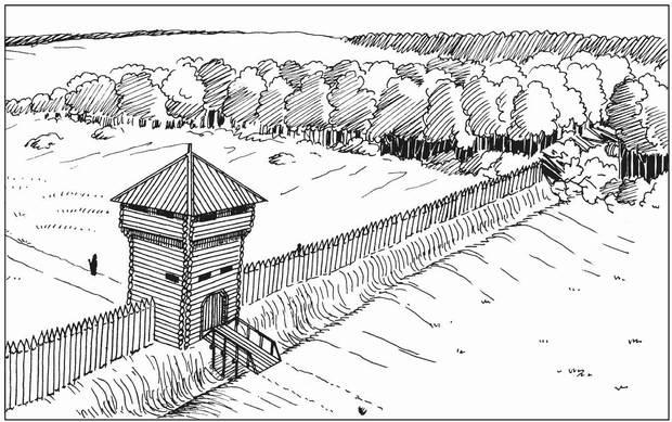 Древняя крепость - Слободской