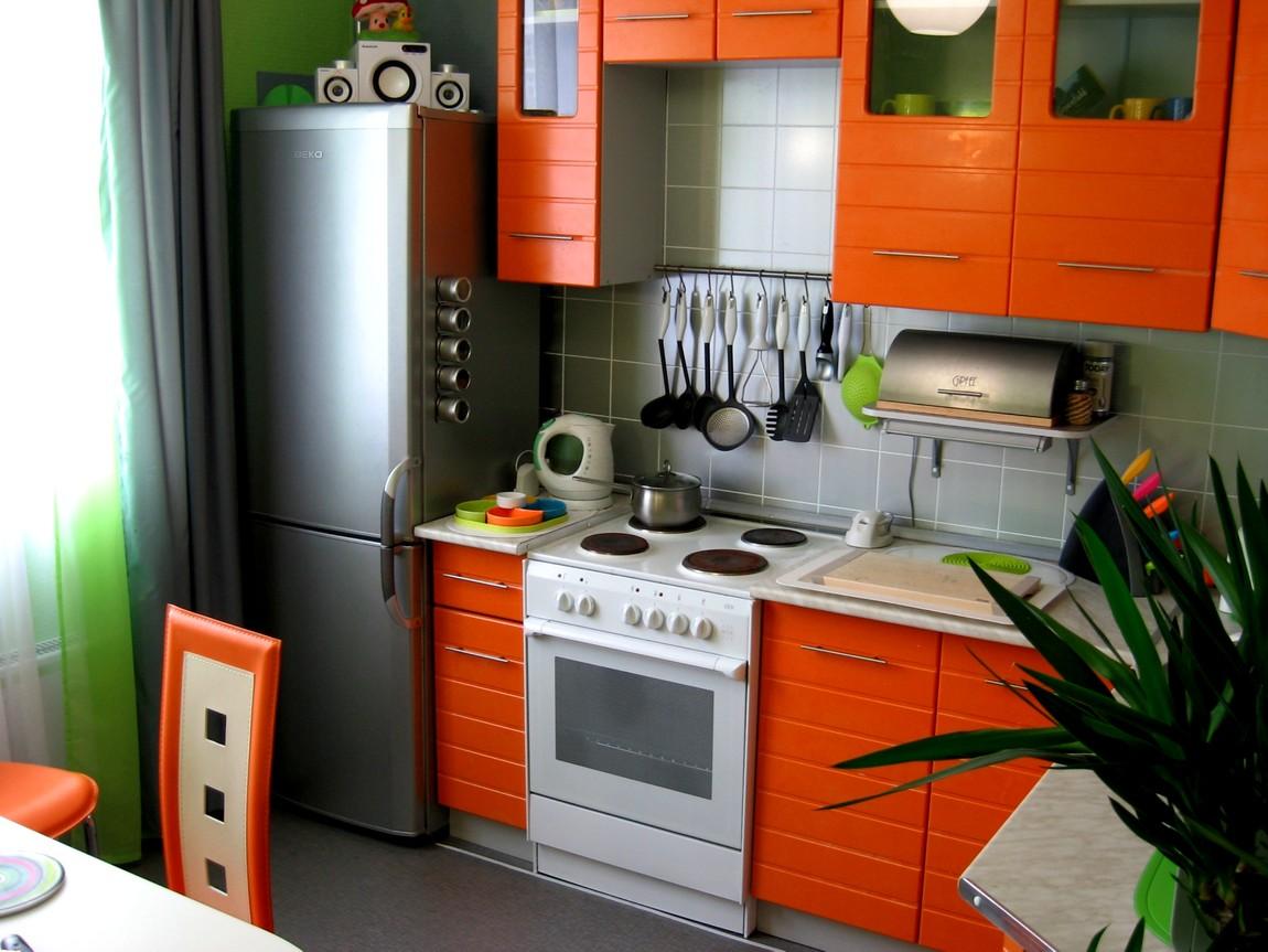 Интерьер кухни для маленькой кухни фото