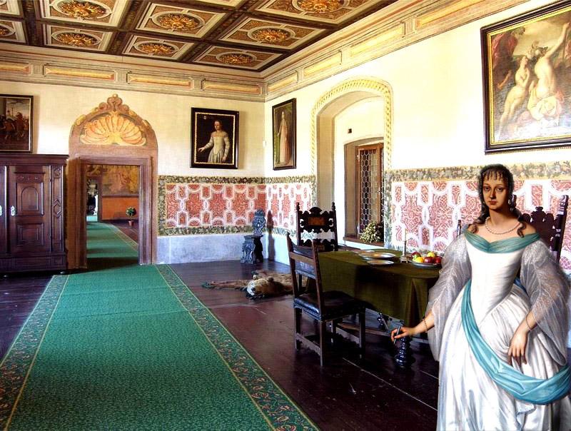 1 ренесансная комната Крумловского замка