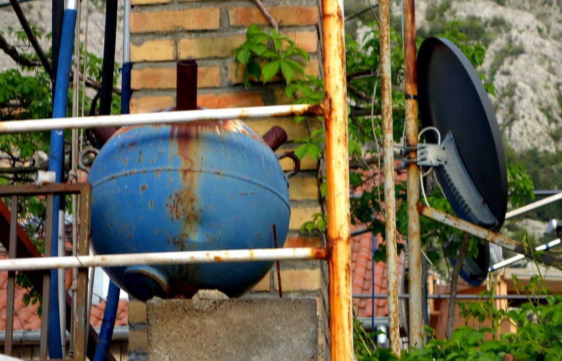 Морская бомба для украшения дома (Черногория)