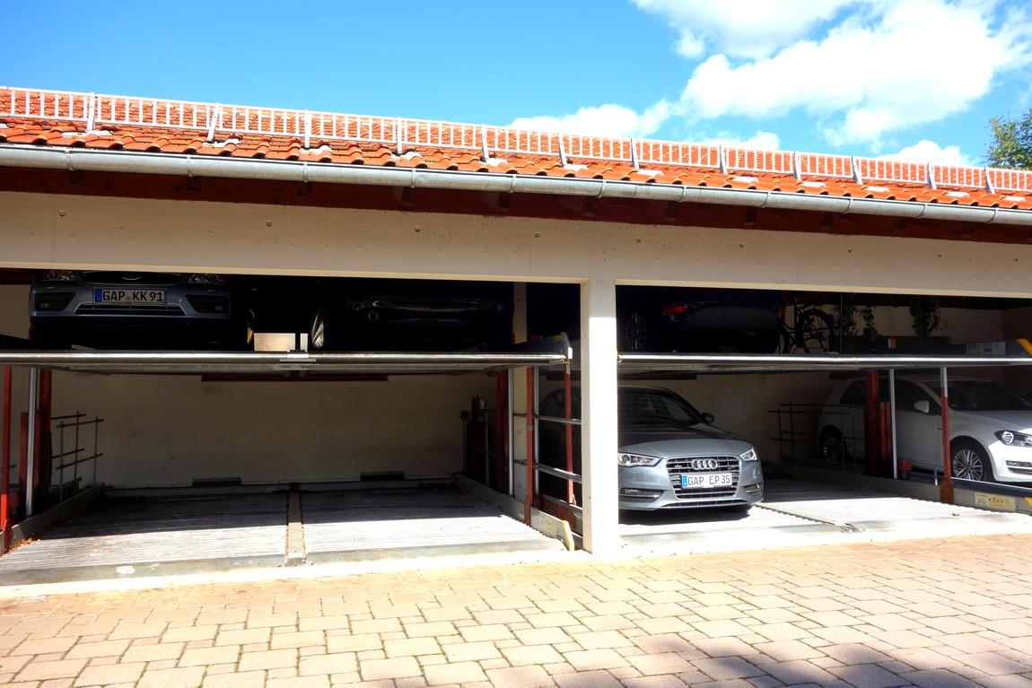 Двухярусный гараж (Австрия)